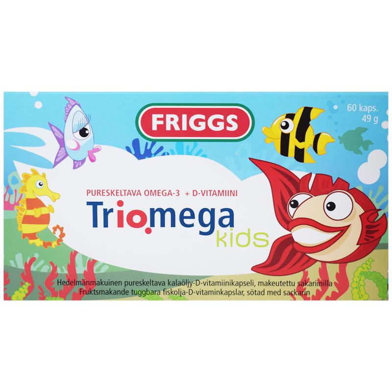 """Kosttillskott """"Triomega Kids"""" 49g - 78% rabatt"""