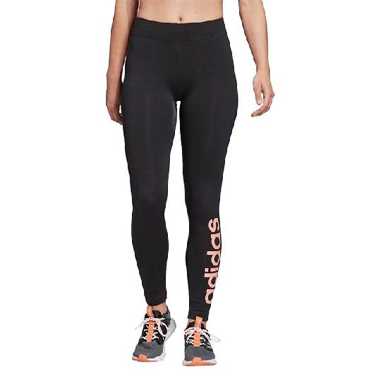Adidas Essential Linear Tights, Black/Pink