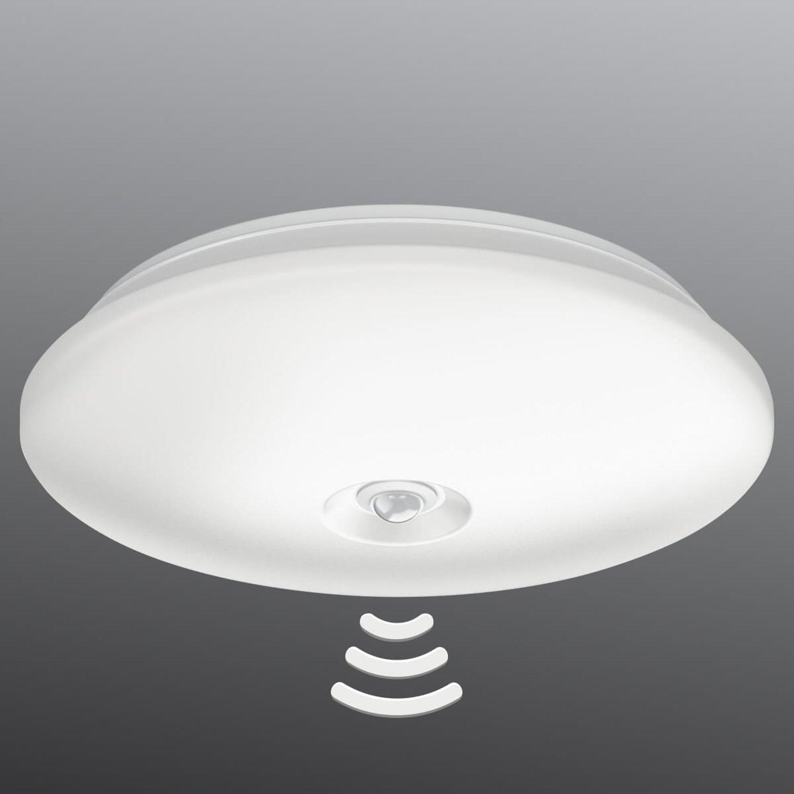 LED taklampe Mauve med IR-sensor, Ø 32 cm