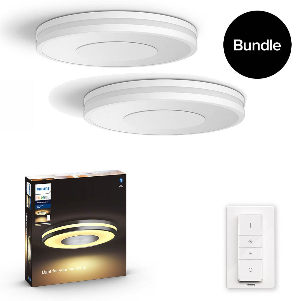Philips Hue - Being Ceiling Light White - 2xBundle