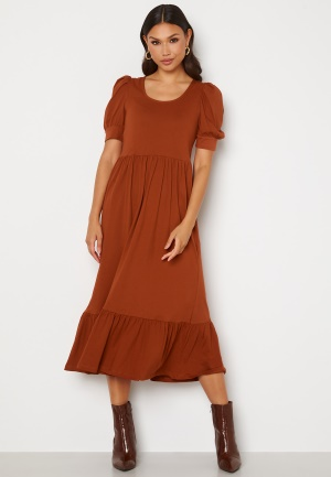 ONLY May Life S/S Puff Dress Arabian Spice S