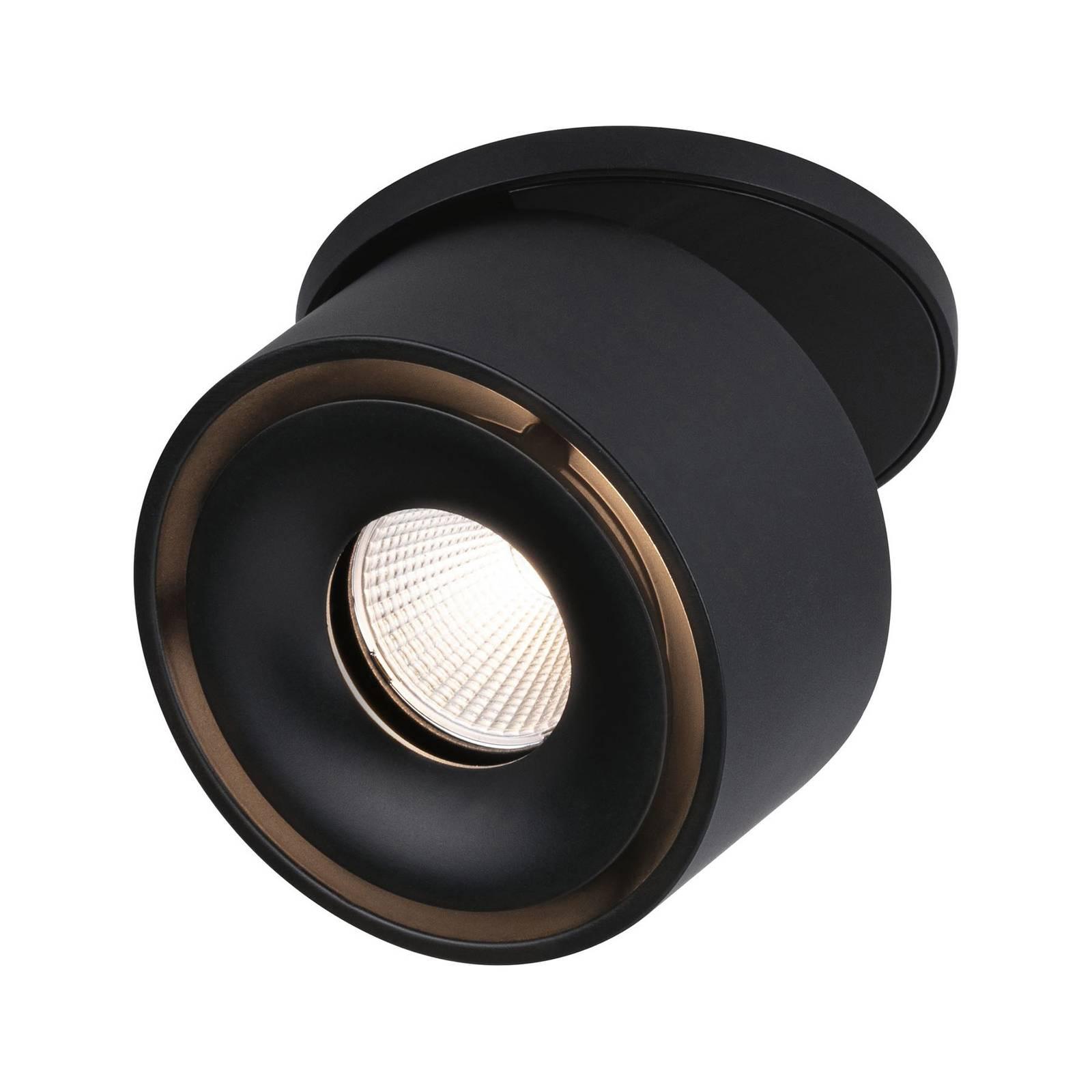 Paulmann Spircle -LED-uppovalo, mattamusta