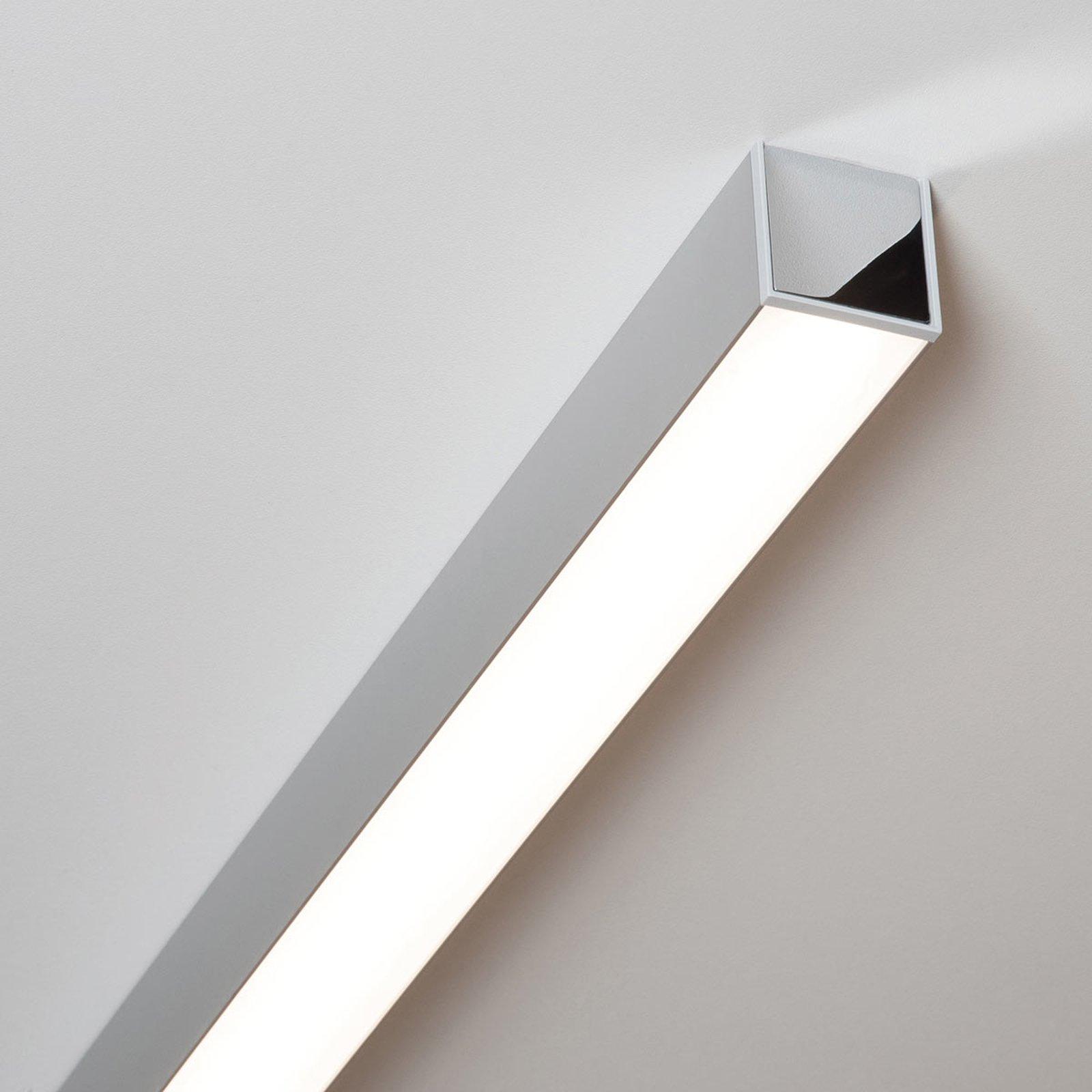 Ride LED-taklampe 57,7 cm, eloksert alu