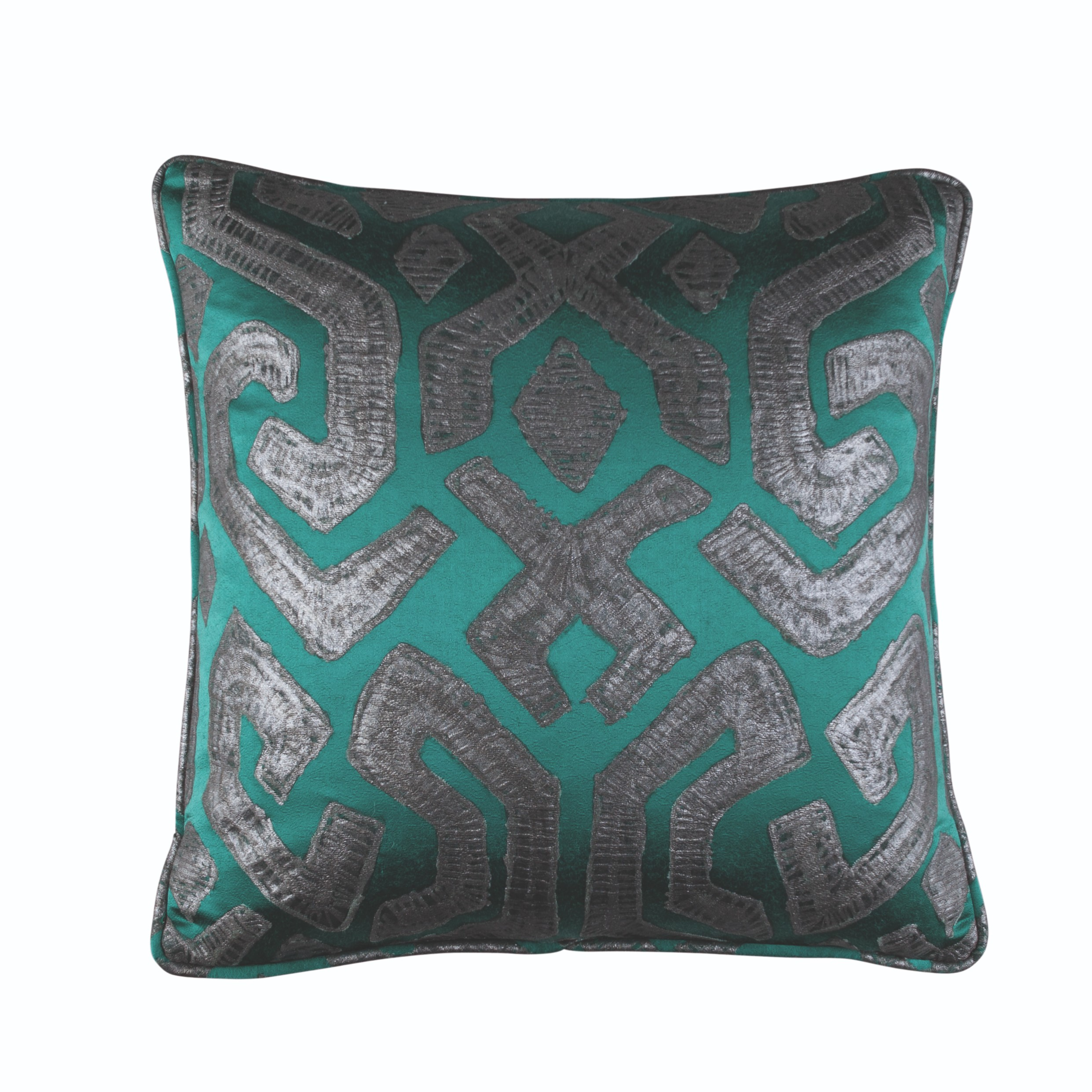 Zinc Romo I Dammuso Cushion | Jade 50x50cm
