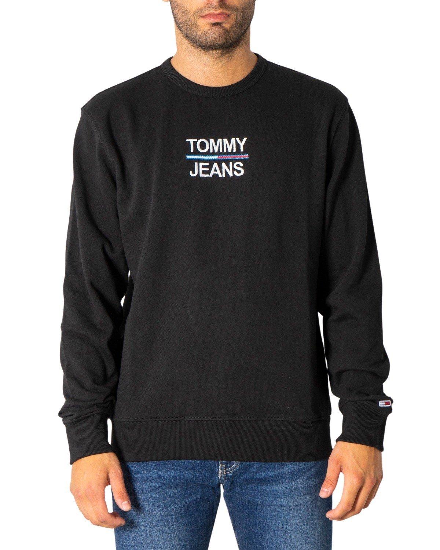 Tommy Hilfiger Jeans Men's Sweatshirt Various Colours 304995 - black XS