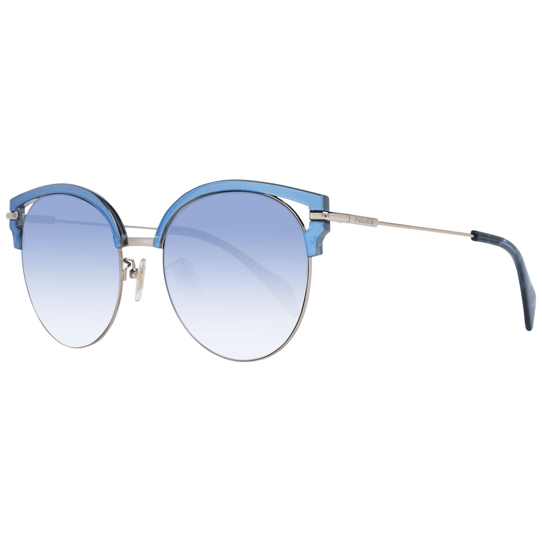Police Women's Sunglasses Blue PL739 548FFB