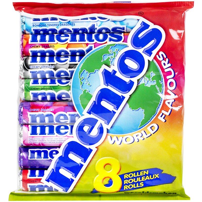 """Mentos """"World Flavours"""" 8 x 38g - 52% alennus"""
