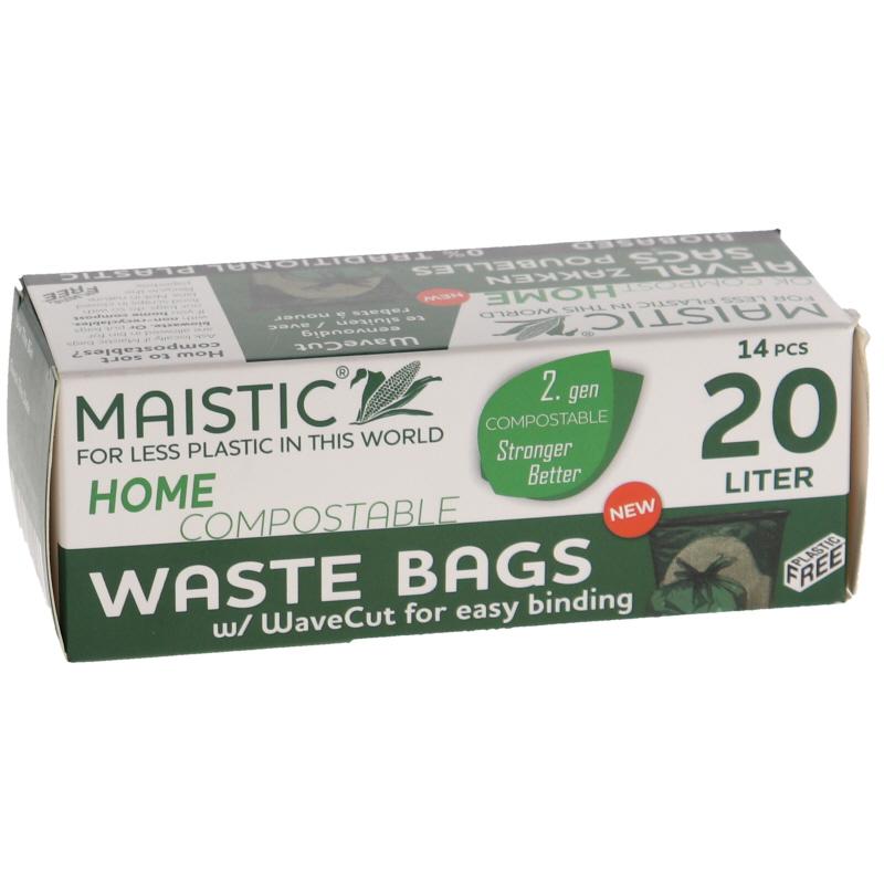 Avfallspåse Komposterbara 20L - 43% rabatt
