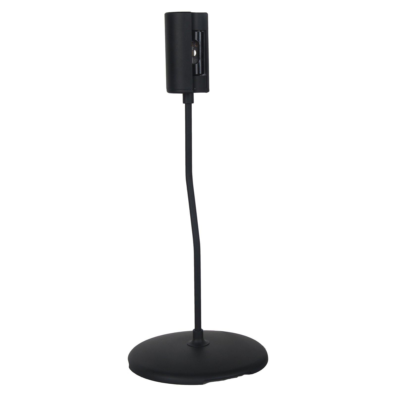 SEGULA Small Letta bordlampe i svart