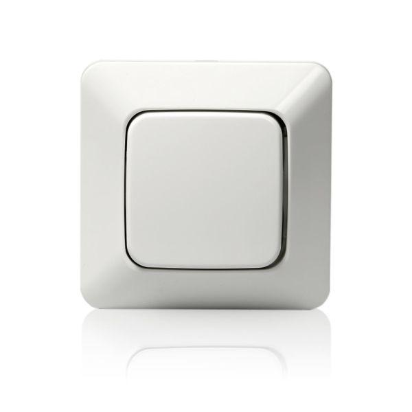 ABB 10631U2 Strømstiller innfelt, IP20, alpinhvit 3 x 1 pol