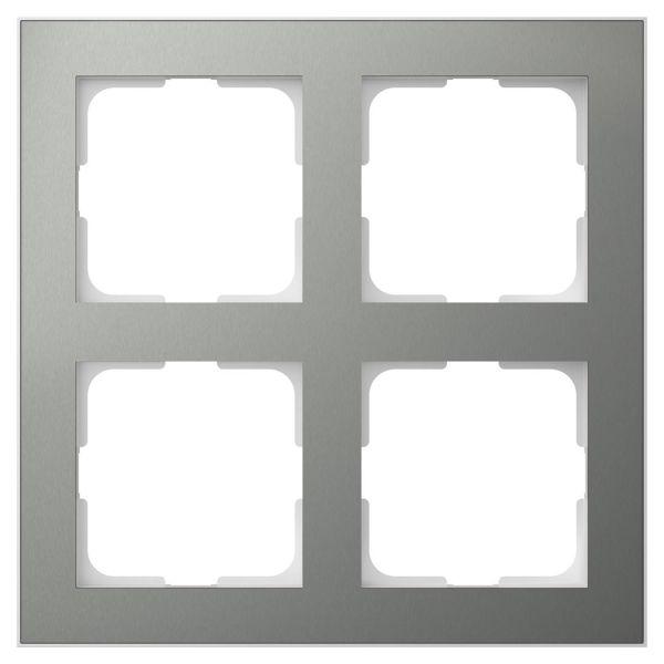 Elko EKO06190 Kombinasjonsramme blåmetall/aluminium 2 x 2 rom