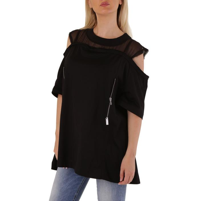 Diesel Women's T-Shirt Black 302526 - black XS