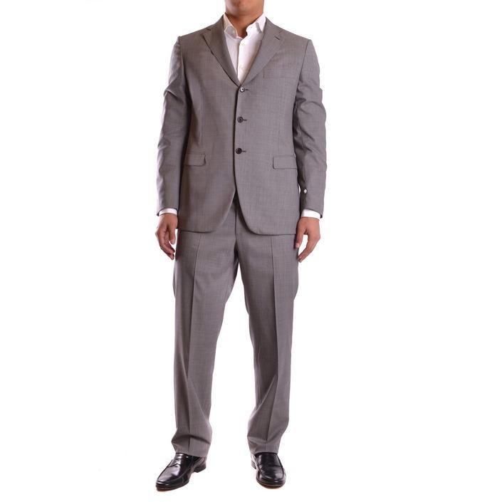 Burberry Men's Suit Grey 164022 - grey 52