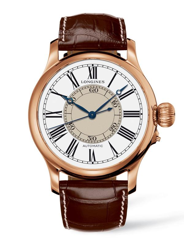 Longines Heritage Avigation Weems Second-Setting Watch L2.713.8.11.0