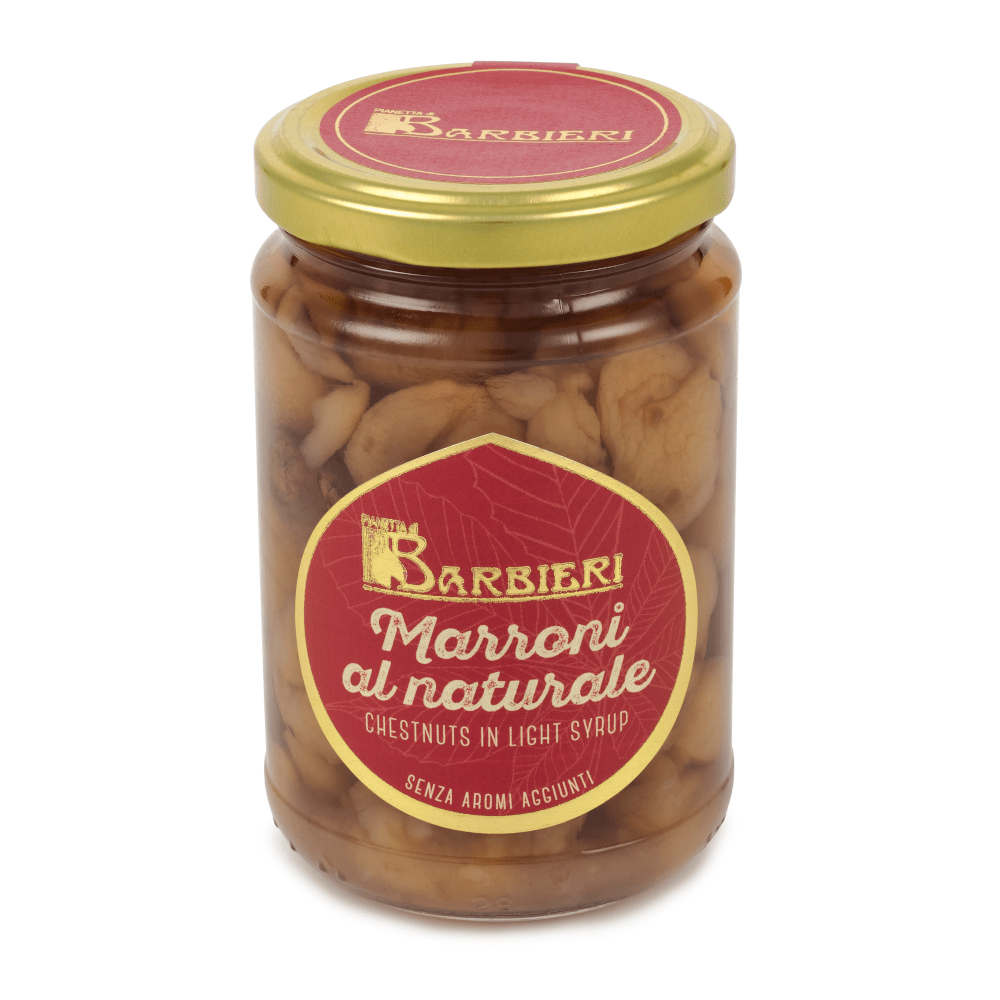 Chestnuts in Light Syrup 320g by Pianetta di Barbieri