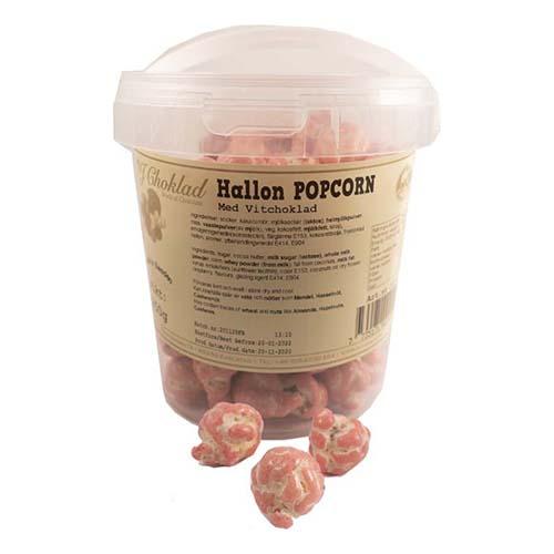 Hallonpopcorn i Hink - 250 gram