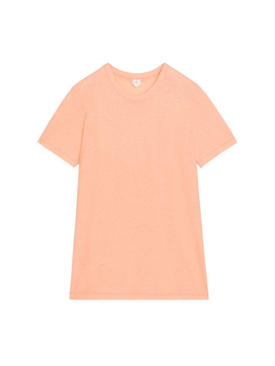 Ice Crepe T-Shirt - Orange
