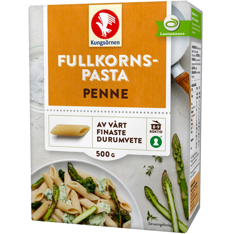 """Pasta """"Penne"""" Fullkorn 500g - 29% rabatt"""