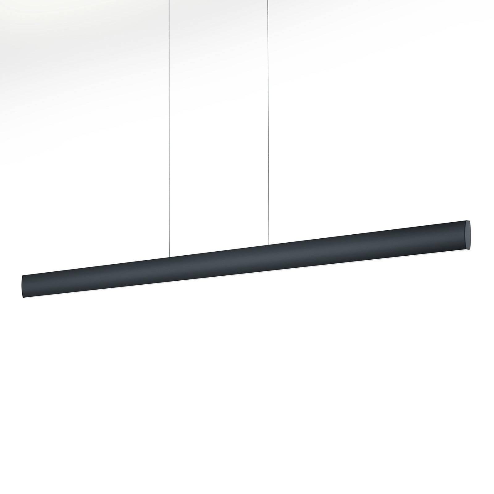 LED-riippuvalaisin Runa, musta, pituus 132 cm
