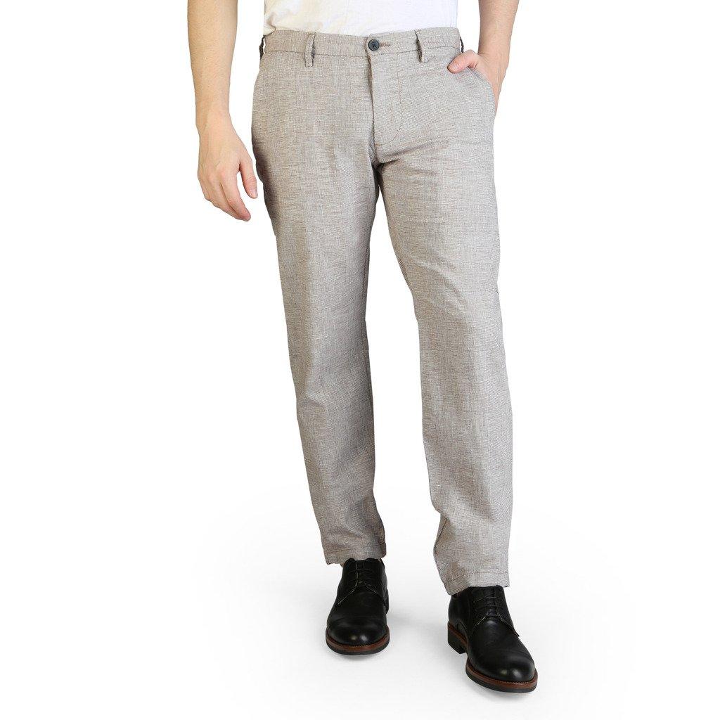 Yes Zee Men's Trouser Various Colours P682_UN00 - brown S