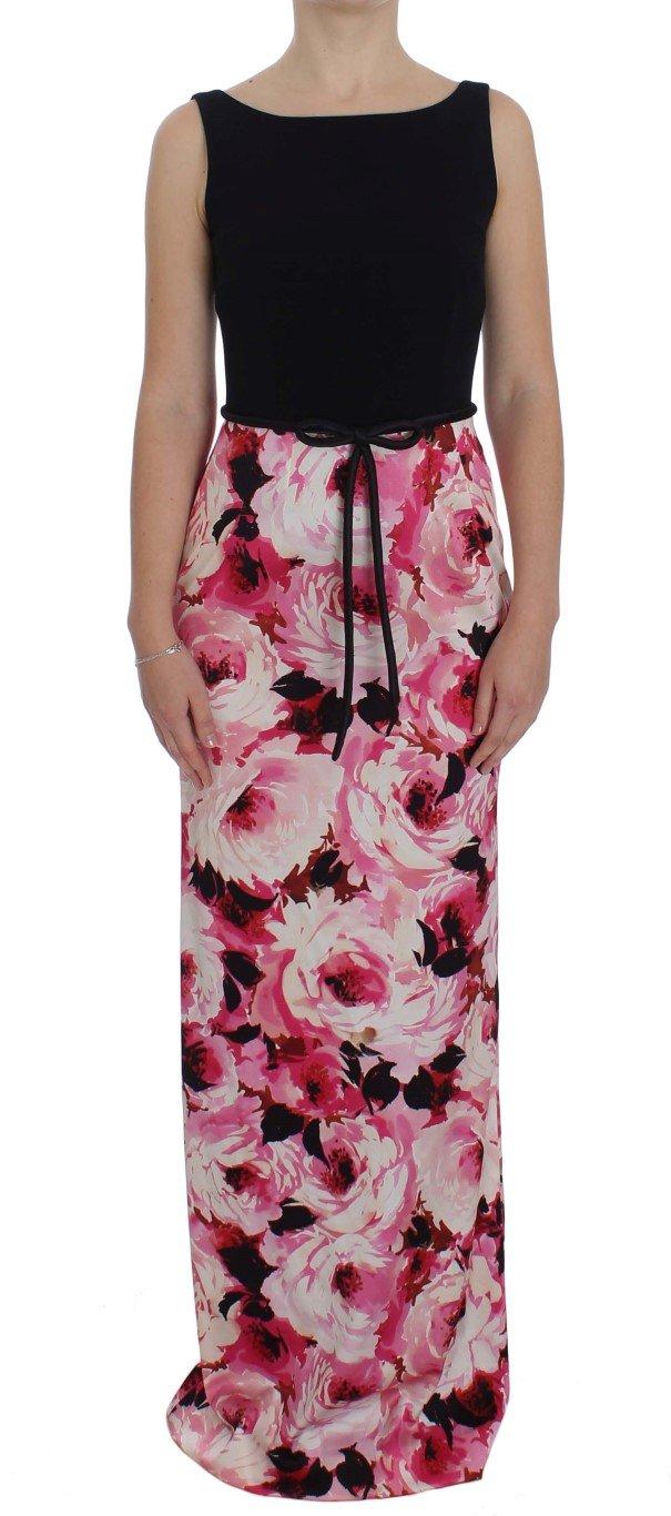 Dolce & Gabbana Women's Floral Print Sheath Dress Multicolor NOC10089 - IT40|S