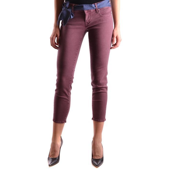 Jacob Cohen Women's Jeans Bordeaux 186827 - bordeaux 27