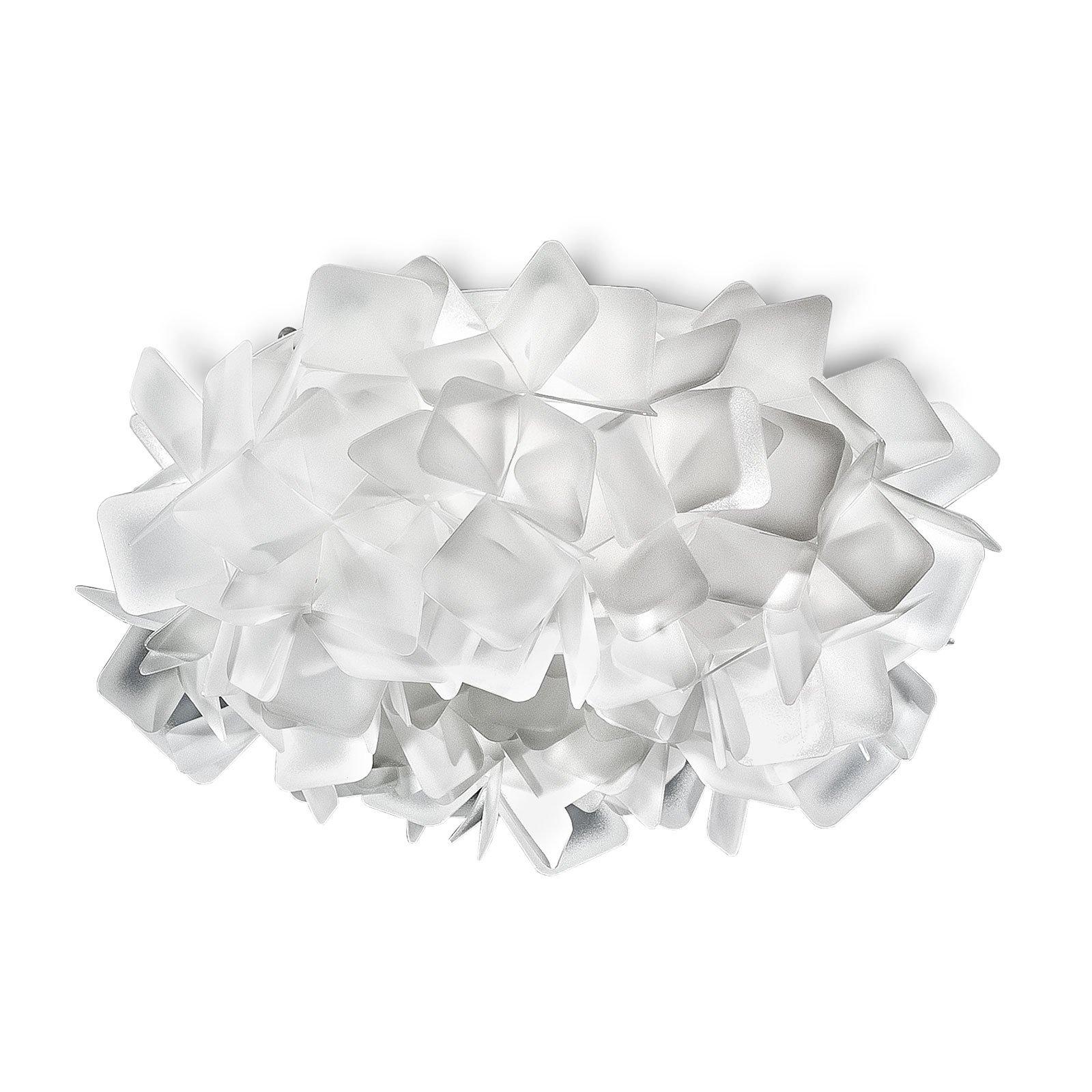 Slamp Clizia taklampe, Ø 32 cm, hvit