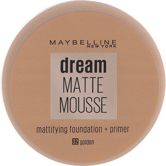 Maybelline New York Dream Matte Mousse Foundation, 18 ml Maybelline Meikkivoide