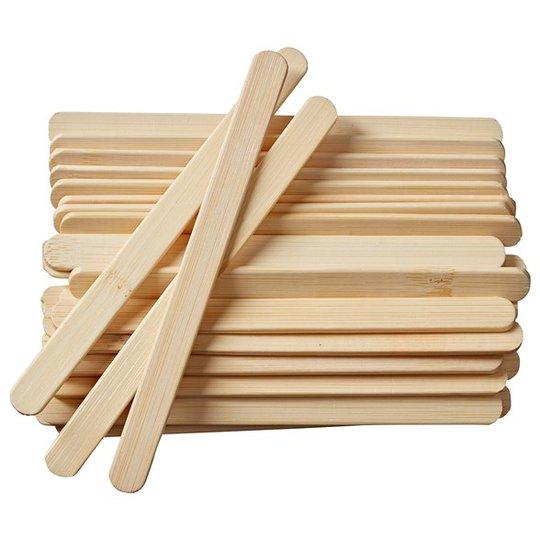 Pulito Glasspinnar Bambu, 30-pack