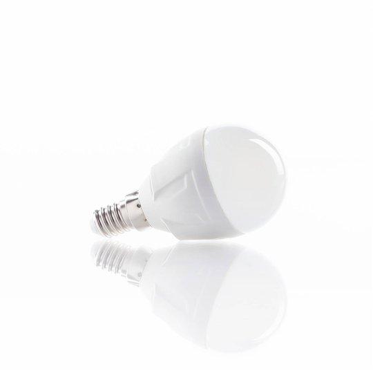LED-pisaralamppu E14 6 W 830, lämmin valkoinen