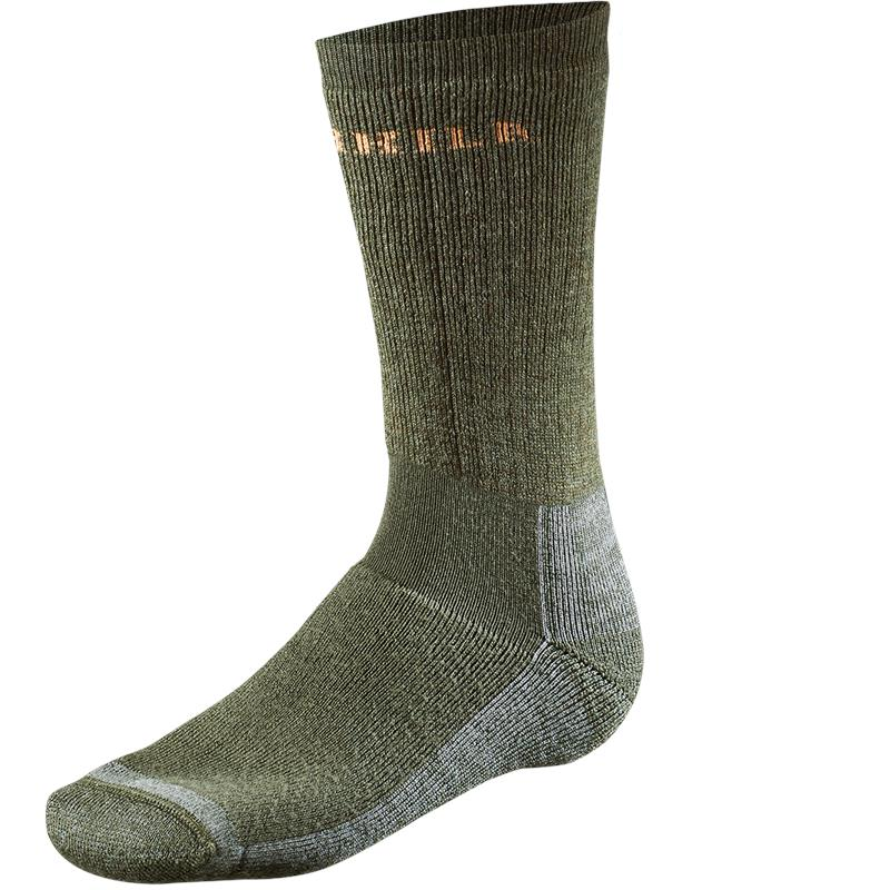 Härkila Pro Hunter sokk kort XL Dark Gr Jaktsokk med kraftig demping