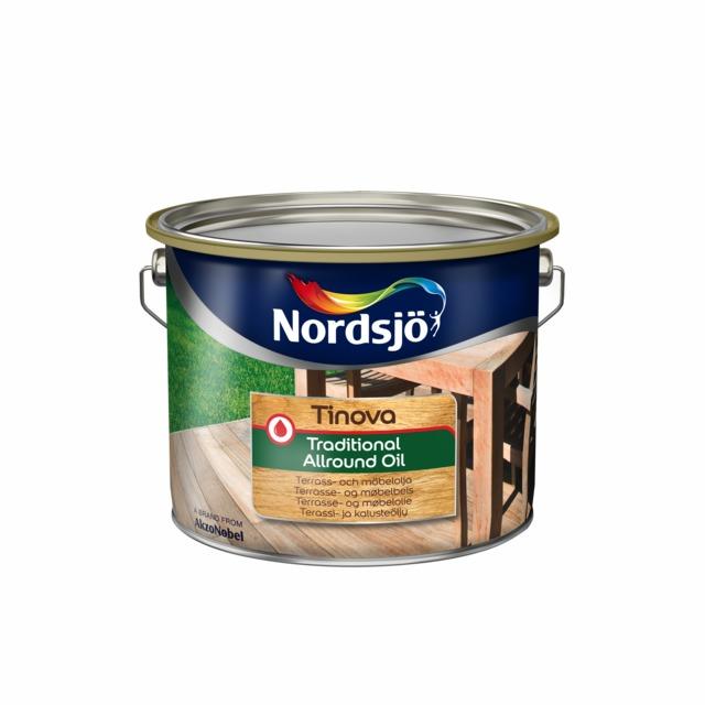 UTEOLJA TINOVA FÄRGLÖS 5L