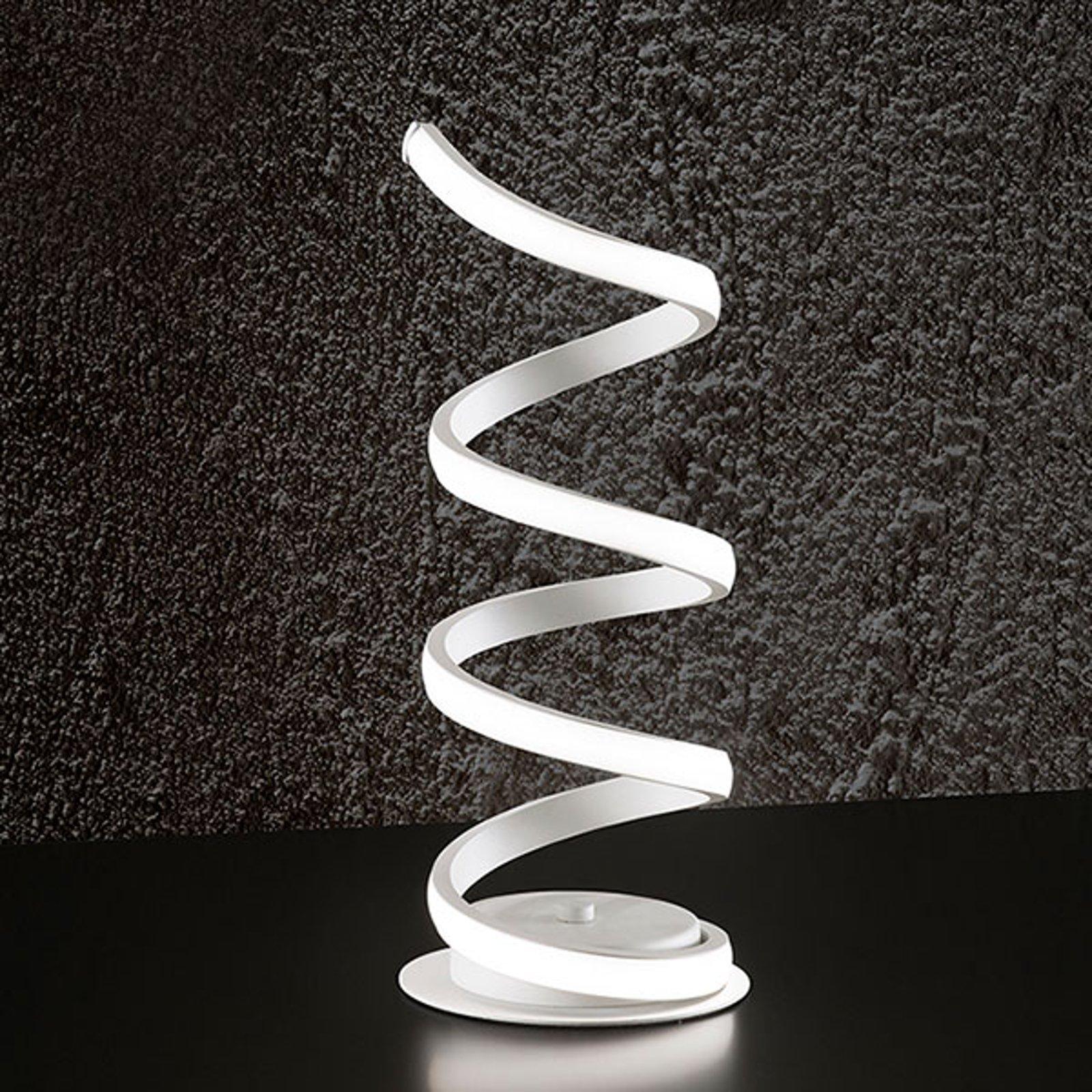 LED-bordlampe 6393 hvit