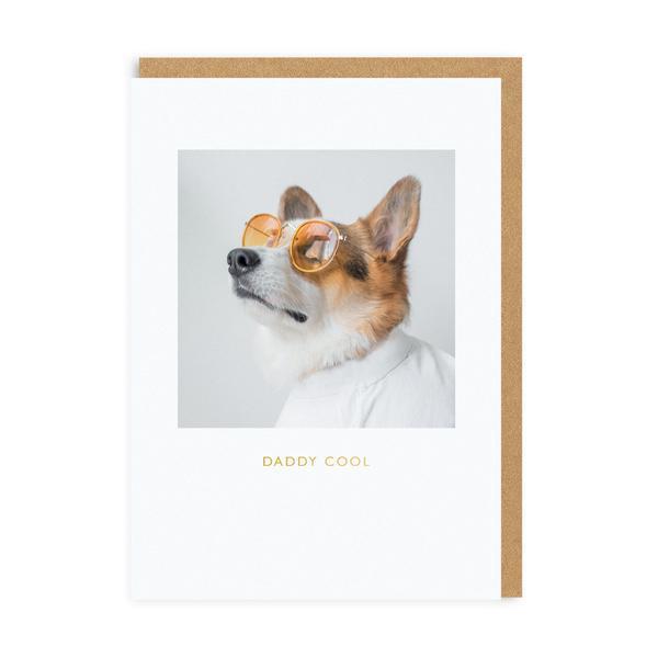 Daddy Dog Cool Greeting Card