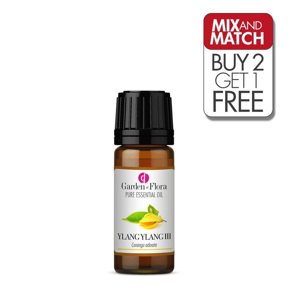 Ylang Ylang III Pure Essential Oil (10ml)