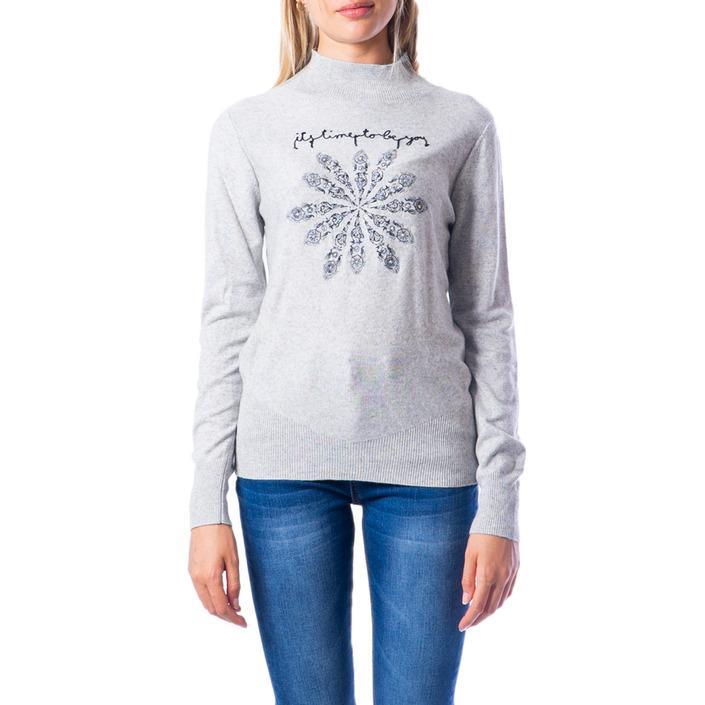 Desigual Women's Sweater Grey 176604 - grey XS