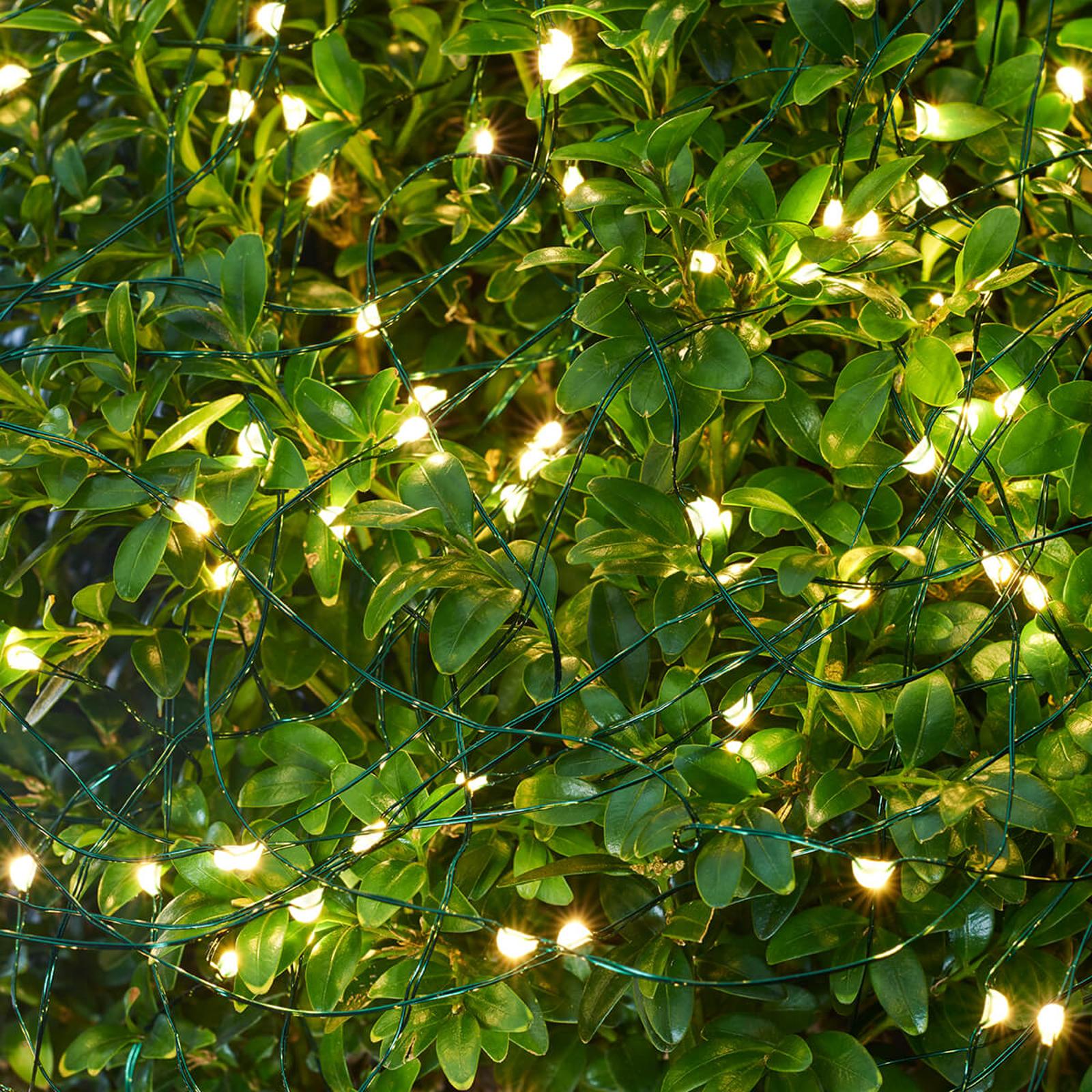 LED-valoketju Knirke ulkokäyttöön, 80-lamppuinen