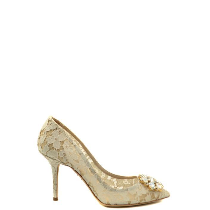 Dolce & Gabbana Women's Pumps White 180161 - white 40