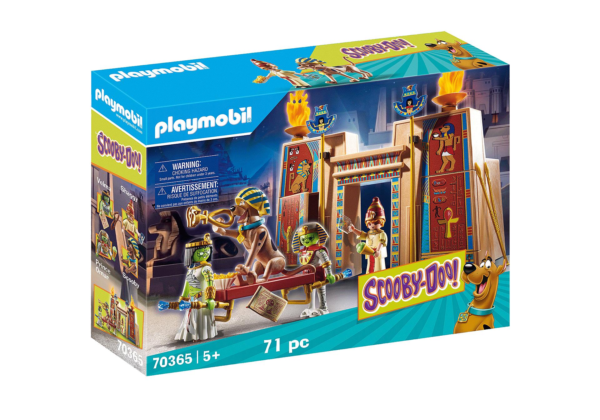 Playmobil - Scooby Doo - Egypt Set (70365)