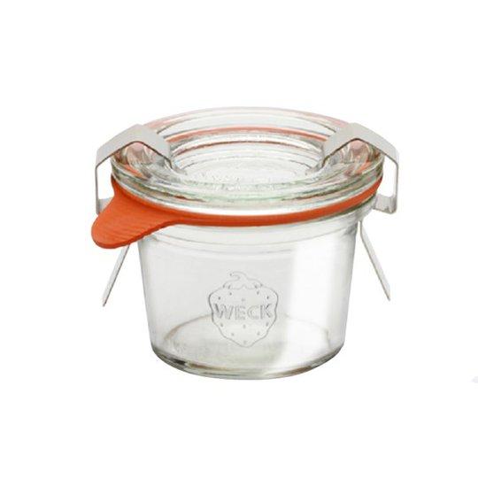 Weck Jars Konserveringsglasburk Mini Mold