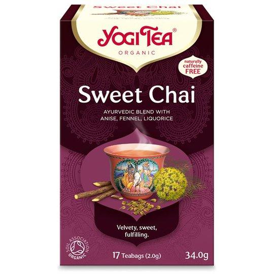 Yogi Tea Sweet Chai, 17 påsar