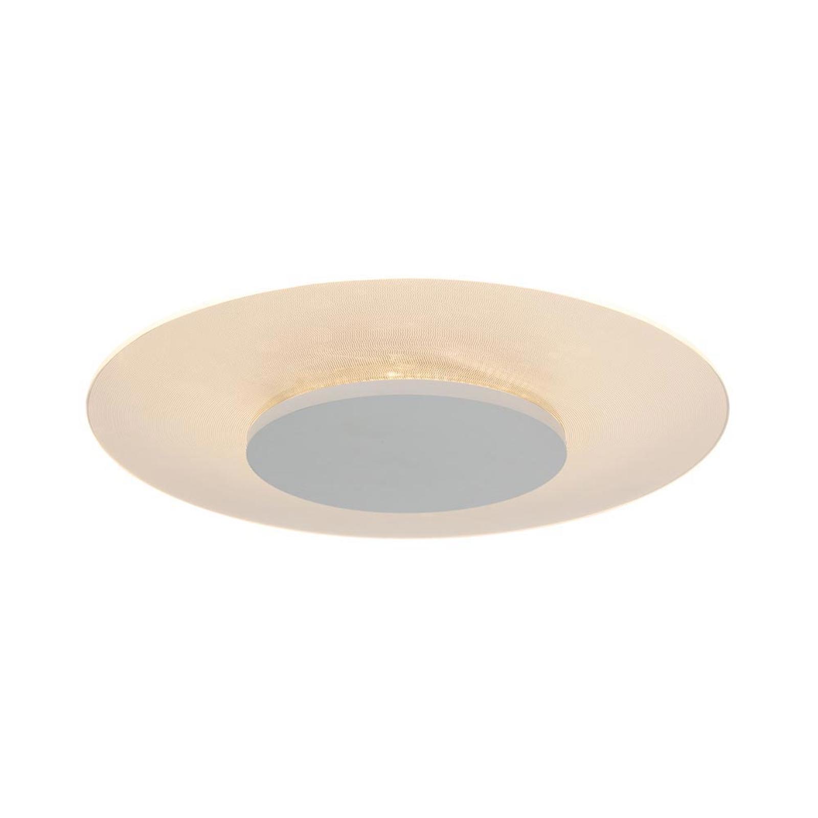 Pyöreä LED-kattovalaisin Birma valkoisena, himm.