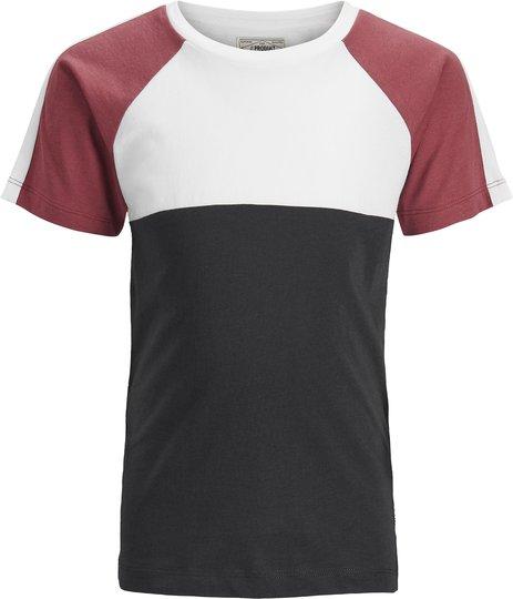 PRODUKT Clay Cut T-Shirt, Brick Red 146/152