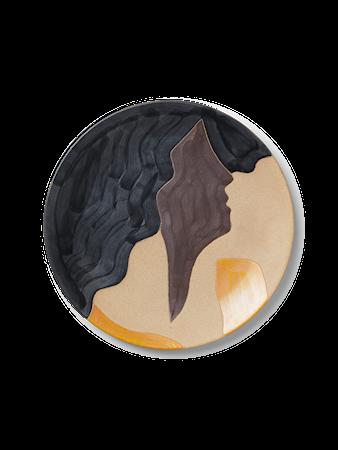 Aya Ceramic Platter - Multi