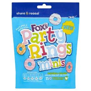 Foxs Party Rings Kakor Minis 110g