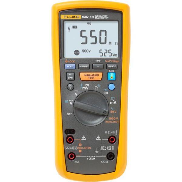 Fluke 1587 FC Isolasjonsmultimeter