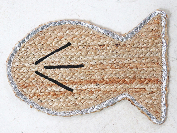 Jute Fish Placemats x 4