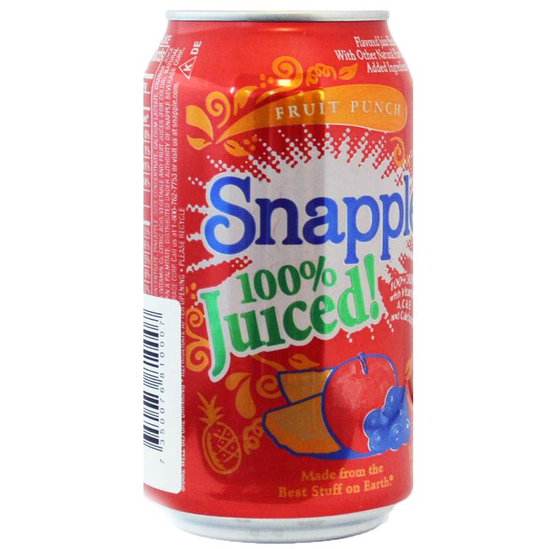 Snapple Fruit punch - 66% rabatt