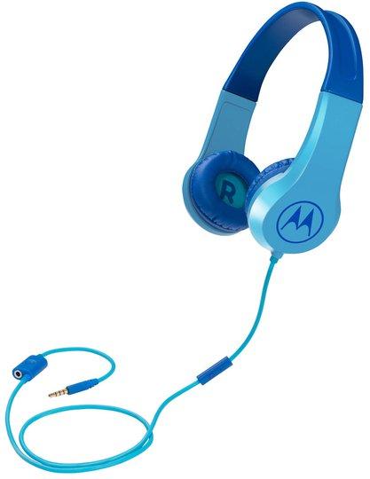 Motorola Hodetelefoner Squads 200, Blå