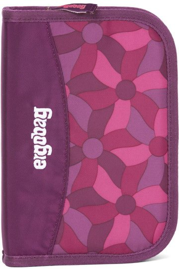 Ergobag Pennal Night CrawlBear, Flower Wheel Purple